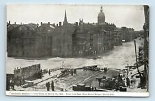 Rochester, NY - RARE EARLY 1900s POSTCARD - 1865 FLOOD DISASTER - E MAIN ST - T1