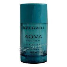 Bvlgari Aqva Marine Pour Homme Deodorant Stick For Men 2.7oz 75g * New *