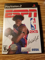 Playstation 2 ESPN NBA 2K5 (Sony PlayStation 2, 2004) 2005 PS2 Complete Complete