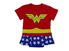 Superhero Comic Baby Toddler Girl Party Costume Fancy Dress Outfit.fast UK & Wonder Woman 2 - Includes Cape 18-24 Months