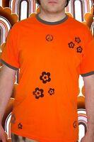 278✪ selfmade Prilblumen Hippie Peace Herren Shirt Woodstock Vintage Kult Retro