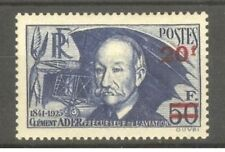 """FRANCE STAMP TIMBRE N° 493 """" CLEMENT ADER , AVION 1941 """" NEUF xx LUXE  A195"""