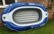Sevylor Caravelle KK65D Inflatable Boat Dinghy with pump Included & free paddles