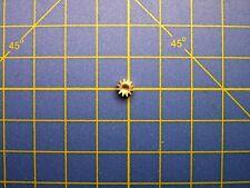 Engrenage / pignon - 12 dents M0.4 Ø 5,3 mm axe 1,5 ou 1,8 mm Jouef HO