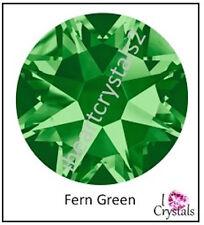 FERN GREEN 5ss 1.8mm 144 pieces Swarovski Crystal Flatbacks Rhinestones 2058