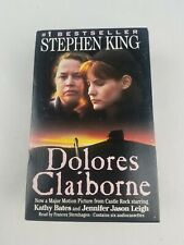 Dolores Claiborne by Stephen King 6 Cassette Audio Book