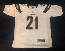 AUTHENTIC Ladainian Tomlinson jersey/ San Diego Chargers/ White