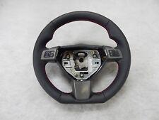Vauxhall Vectra C Sport OPC Custom steering wheel flat bottom red leather