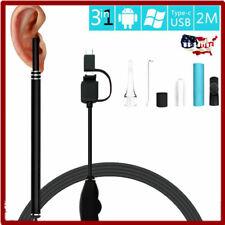 Waterproof 3 in 1 USB Ear Cleaning Endoscope Earpick 1.3 MP HD Inspection Camera