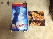 Ministry Cd lp Promo Poster & poster flat sphinctour music vintage record!.