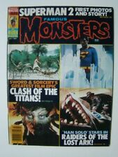 1981 Famous Monsters of Filmland Magazine #175 Superman 2 Cover
