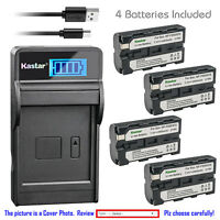 Kastar Battery LCD USB Charger for NP-F570 & Sony CCD-TRV26 CCD-TRV27 CCD-TRV300