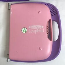 Leap Pad Learning System With Carry Case  And 6 Books &  6 Cartridges