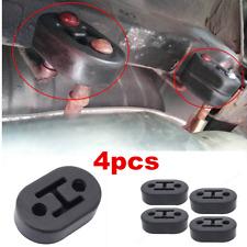 4pcs Universal Car Accessories Rubber 2 Hole 11.5mm Exhaust Muffler Hanger