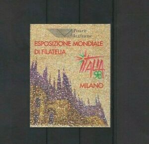 Italy 1996 Cathedral of Milan Booklet MNH per scan
