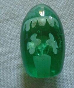 VICTORIAN GLASS DUMP PAPERWEIGHT