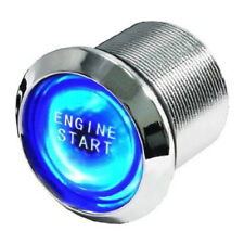 Auto Car Engine Start Push Button Switch Blue LED Illumination Ignition Starter
