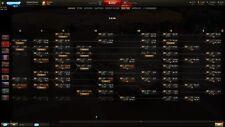 World of Tanks account PC, EU