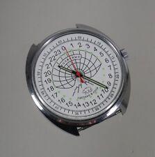 Russian Mechanical watch 24 hr military dial POLAR BEAR (0636)