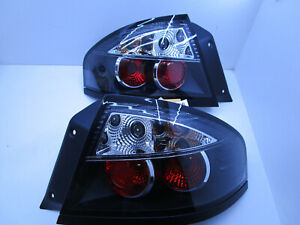 BLACK Smoked TAIL LIGHTS TINTED FOR Ford Falcon Fairmont FPV BA BF Sedan NEW