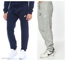 Nike Mens Navy Sweat Pants Jogging Jog Bottoms Joggers Grey Black Standard S, XL