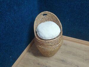 Wicker Ali Baba Basket Seat
