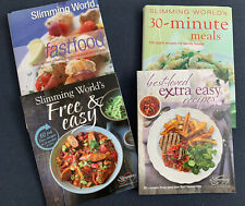 4 X Slimmingworld Recipe Books Fastfood Free & Easy 30 Minute Meals Extra Easy