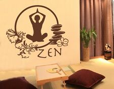 Zen Meditation - highest quality wall decal stickers