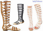 NEW Women's Fashion Zipper Strappy Gladiator Flat Sandals Shoes Size 6 - 10
