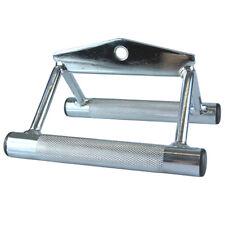 Rudergriff breit  Parallelzuggriff  Kabelzuggriff Rücken Zuggriff  Steely-Sports