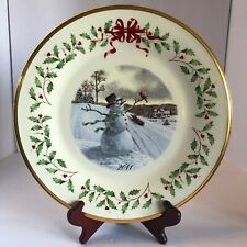 Lenox 2011 Annual Holiday Collector Plate