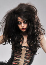 Deluxe Womens Long Brown Zombie Wig