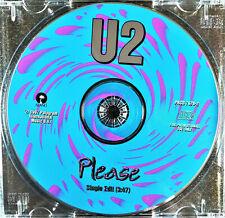 U2 Please - Promo Usa Rare 1 track **bono**bonovox**u2**