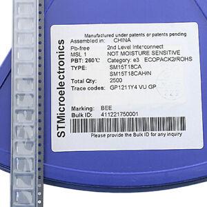 [22pcs] SM15T18CA Transient Voltage 18V Bidirect SOD15