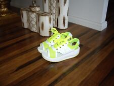 New Sporty Wedge Sandals Size 38
