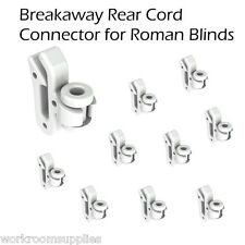 Clip-on Roman Blind REAR CORD SAFETY DEVICE (child safe) pack of 10