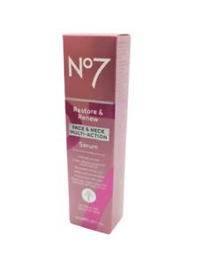 No7 Cream Tub & Serum Protect & Perfect, Lift & Luminate, Restore & Renew Sealed