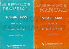 1974 Subaru Shop Manual 2 Volume Set Supp also need for 1975 1976 Service Repair