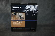 Shure SE425CL SE425 In Ear Monitors Earphones NEW Dealer Clear Authorized