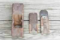 """Antique Primitive W Greaves and Sons Sheffield 8"""" Plane Engraved A. Fish Lowell"""