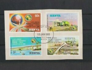 Kenya 1980 1Vth IRF African Highway Conference FU set on piece Ex-FDC per scan