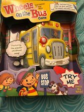 Wheels on the Bus Electronic Hand Held Game New