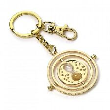 Harry Potter Official Time Turner Key Ring Chain Hermione Hogwarts Gryffindor