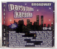 Party Tyme Karaoke: Broadway by Sybersound (CD, May-2005, Sybersound Records)