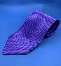 Stefano Ricci Purple/Blue Long Silk Tie