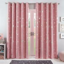 "Dreamscene Galaxy Thermal Blackout Curtains - Pink, 66"" x 72"""