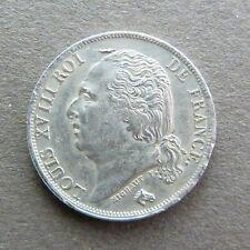 FRANCE LOUIS XVIII - 1 Franc - 1817 A - Argent, RECHERCHÉE, QUALITÉ TTB !