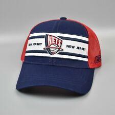 New Jersey Nets Reebok NBA Adjustable Snapback Cap Hat