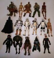 Star Wars The Clone Wars & Trooper Figures Lot 16