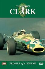 Champion Jim Clark - Profile of a Legend (New DVD) Formula One F1 Lotus
